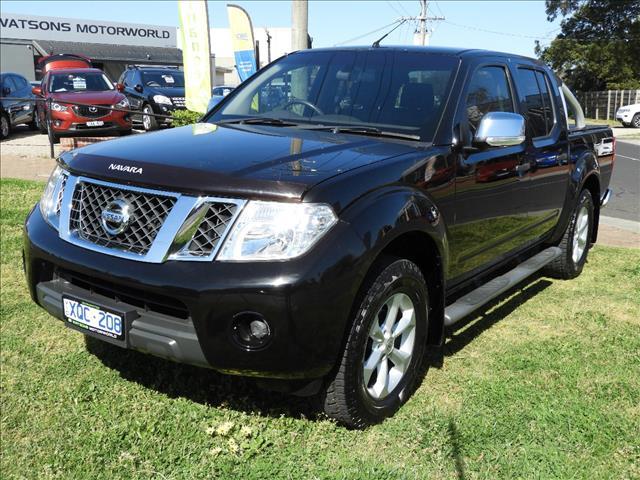 2010 NISSAN NAVARA ST-X (4x4) D40 DUAL CAB P/UP