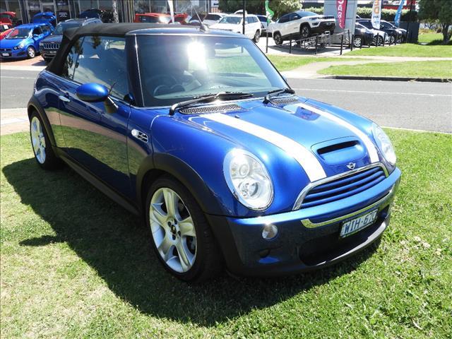 2008 MINI COOPER S CABRIO R52 2D CABRIOLET
