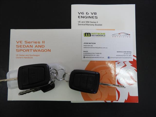 2012 HOLDEN COMMODORE Z-SERIES VE II MY12.5 4D SPORTWAGON