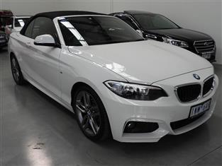 2016 BMW 2 20i M-SPORT F23 MY16 2D CONVERTIBLE