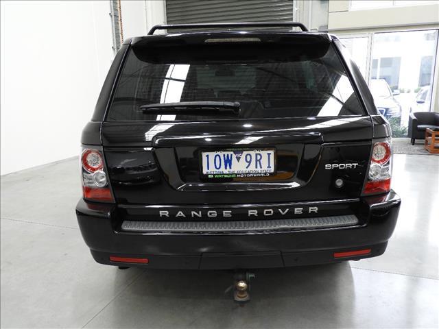 2011 RANGE ROVER RANGE ROVER SPORT 3.0 TDV6 MY11 4D WAGON