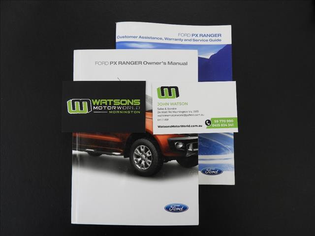 2012 FORD RANGER XL 2.2 HI-RIDER (4x2) PX CREW CAB P/UP