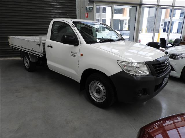 2012 TOYOTA HILUX WORKMATE TGN16R MY12 C/CHAS