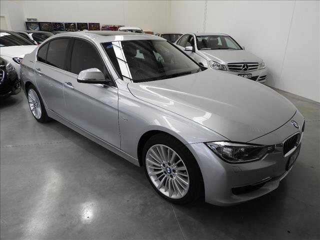 2013 BMW 3 28i LUXURY LINE F30 4D SEDAN