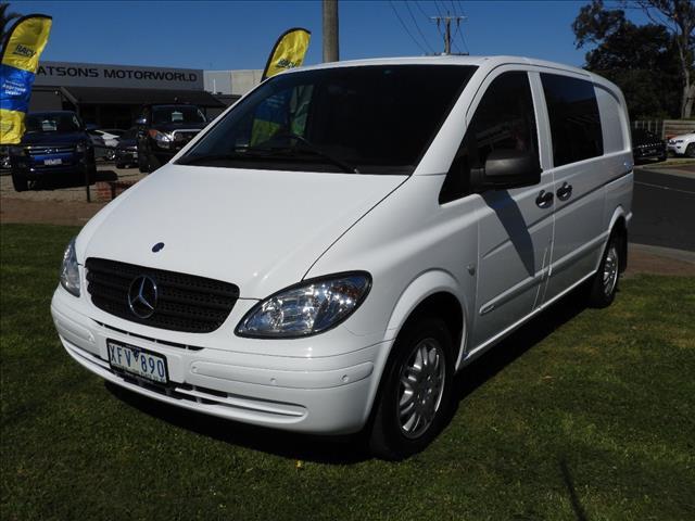 2009 MERCEDES-BENZ VITO 115CDI COMPACT CREW CAB MY09 4D VAN