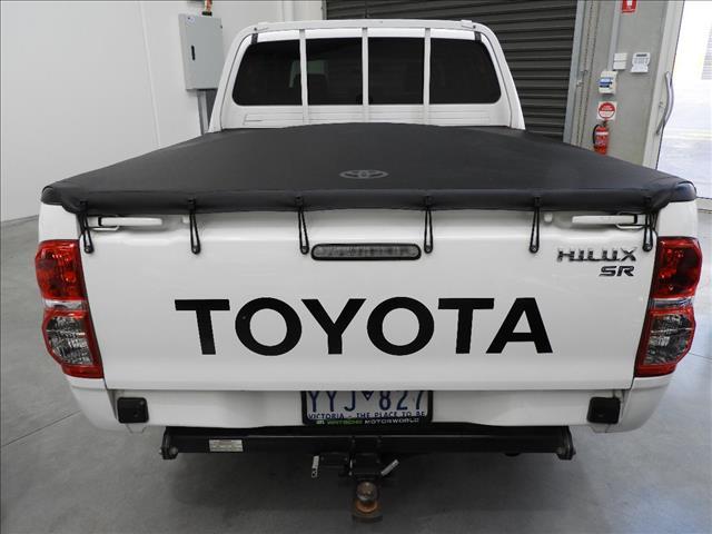 2012 TOYOTA HILUX SR (4x4) KUN26R MY12 DUAL CAB P/UP