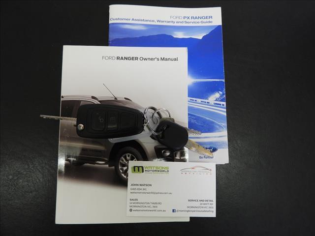 2015 FORD RANGER XLS 3.2 (4x4) PX DUAL CAB UTILITY
