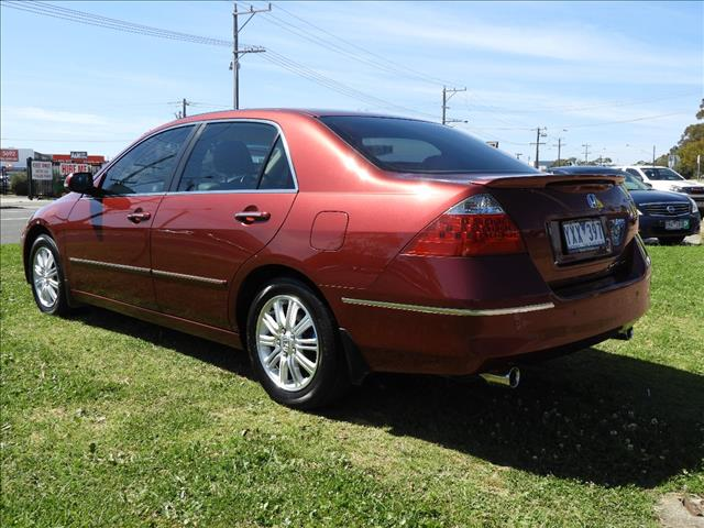 2007 HONDA ACCORD V6 LUXURY 40 MY06 UPGRADE 4D SEDAN