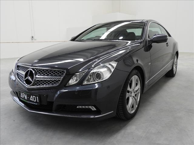 2009 MERCEDES-BENZ E250 CDI AVANTGARDE 207 2D COUPE