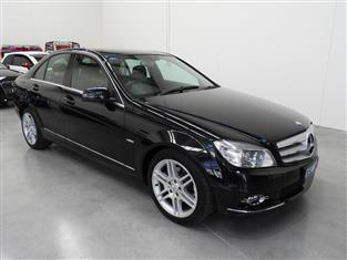 2009 MERCEDES-BENZ C200 KOMPRESSOR AVANTGARDE W204 4D WAGON