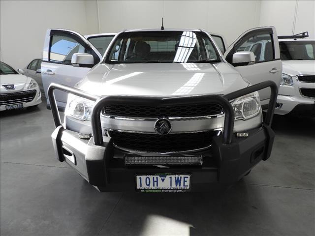2012 HOLDEN COLORADO LX (4x4) RG CREW C/CHAS