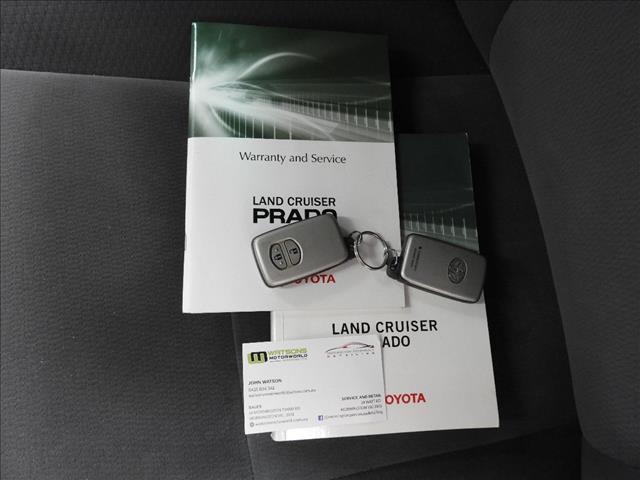 2010 TOYOTA LANDCRUISER PRADO GXL (4x4) KDJ150R 4D WAGON