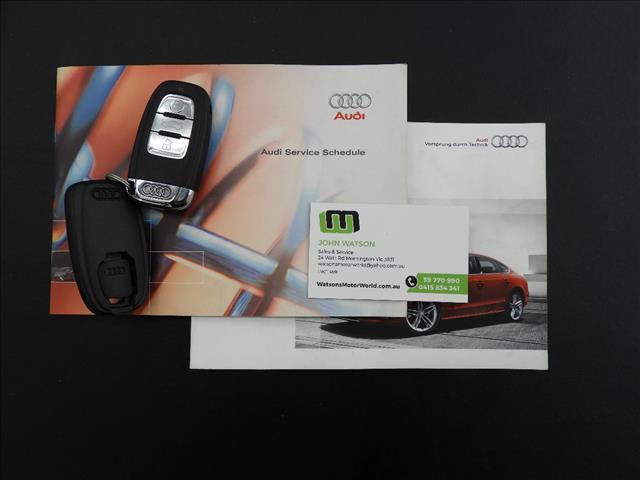 2010 AUDI S5 SPORTBACK 3.0 TFSI QUATTRO 8T 5D HATCHBACK