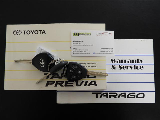 2009 TOYOTA TARAGO GLX V6 GSR50R MY09 4D WAGON