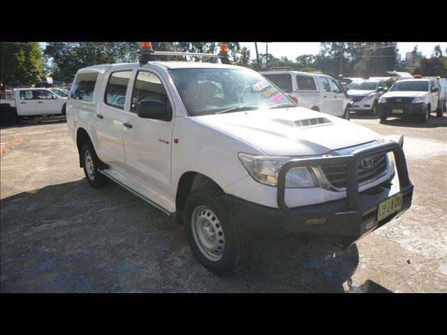 2014 Toyota Hilux SR KUN26R MY14 Utility
