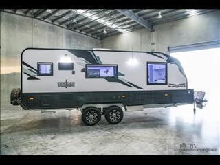 2018 Titan Caravans BLACKHAWK 2060 Centre Door