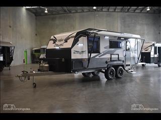 2018 Titan Caravans BLACKHAWK 2060 Rear door