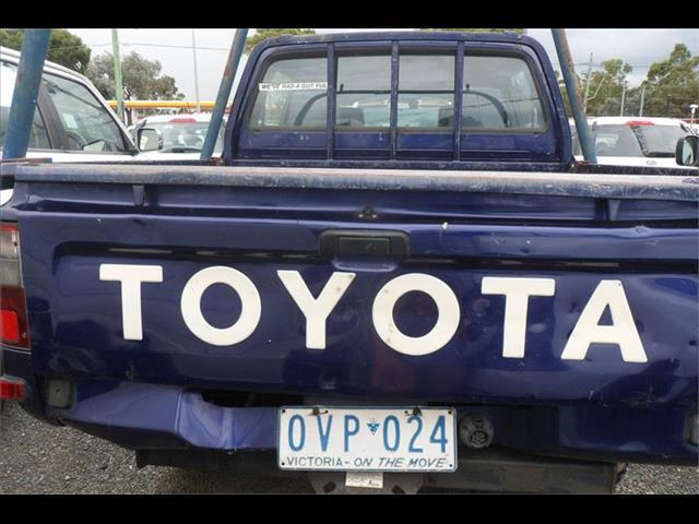 1999  TOYOTA HILUX (4x4) LN167R DUAL CAB P/UP