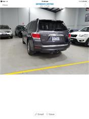2013  TOYOTA KLUGER ALTITUDE (FWD) 7 SEAT GSU40R MY12 4D WAGON