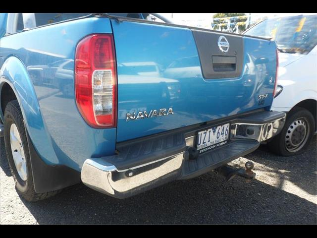 2007  NISSAN NAVARA ST-X (4x4) D40 DUAL CAB P/UP