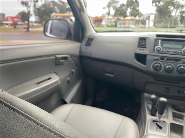 2011 TOYOTA HILUX WORKMATE (4x4) KUN26R MY12 DUAL CAB P/UP