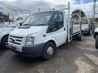 2012 FORD TRANSIT EXTENDED FRAME VM MY12 UPDATE C/CHAS