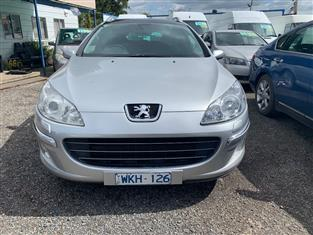 2008 PEUGEOT 407 SV HDi TOURING MY07 4D WAGON