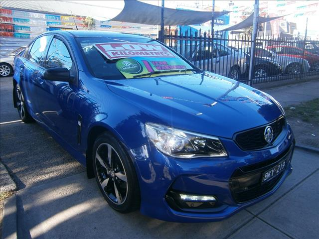 2016 HOLDEN COMMODORE SV6 BLACK EDITION VFII MY16 4D SEDAN