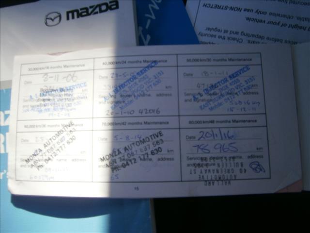 2002 MAZDA PREMACY 5D HATCHBACK