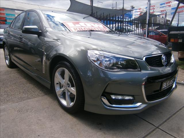 2015 HOLDEN COMMODORE SV6 VF II 4D SEDAN