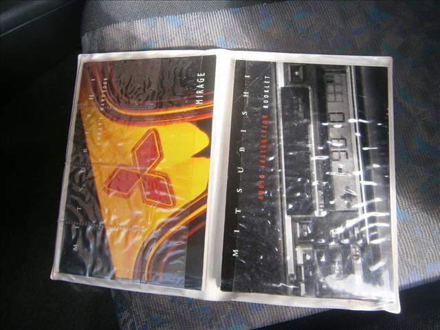 2001 MITSUBISHI MIRAGE CE 3D HATCHBACK
