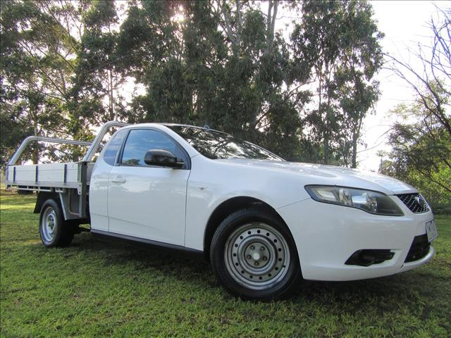 2009 FORD FALCON UTE  FG CAB CHASSIS