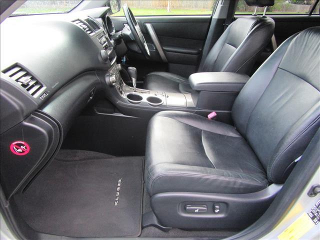 2008 TOYOTA KLUGER KX-S (FWD) GSU40R 4D WAGON