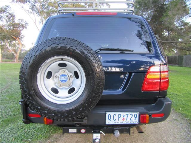 1999 TOYOTA LANDCRUISER GXL FZJ105R WAGON