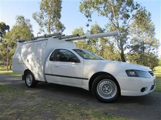 2007 FORD FALCON UTE XL BF Mk II CAB CHASSIS