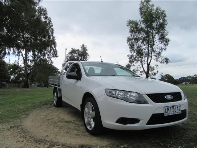 2010 FORD FALCON UTE  FG CAB CHASSIS