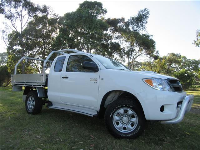 2008 TOYOTA HILUX SR KUN26R CAB CHASSIS