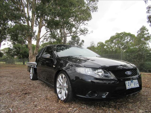 2011 FORD FALCON UTE  FG CAB CHASSIS