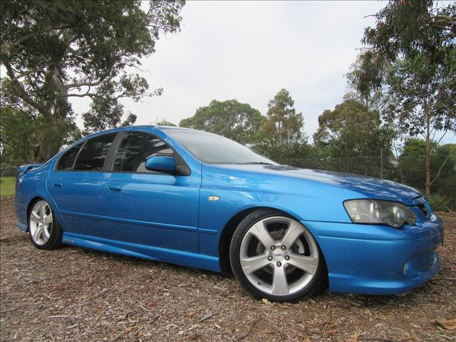 2003 FORD FALCON XR6 BA SEDAN