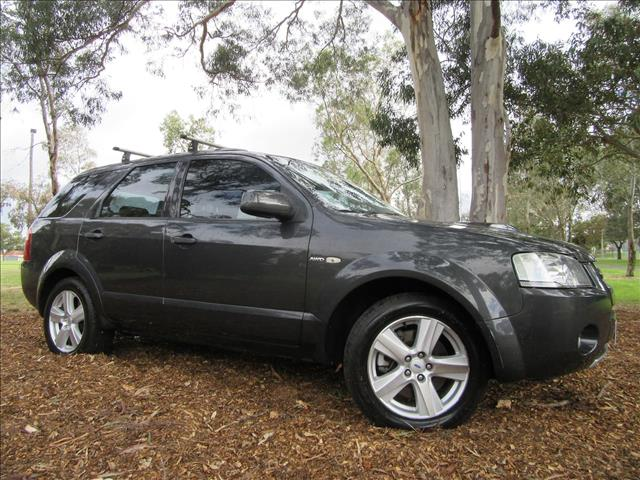 2006 FORD TERRITORY Turbo Ghia SY WAGON