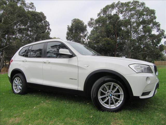 2011 BMW X3 xDrive20d F25 WAGON