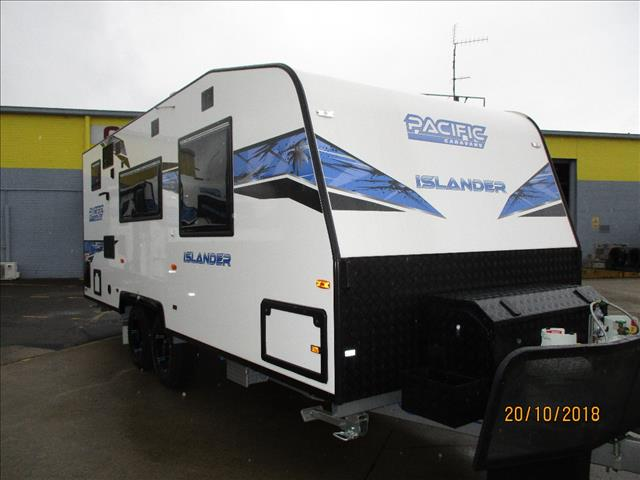 PACIFIC ISLANDER 20, .....SOLD .....Tandem Semi Off Roader, Queen Bed, Ensuite, Independent Suspension......
