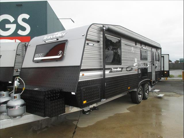 "Traveller 23'6"" Utopia , 2018 Outback/Off Road Model...SOLD.., Queen Bed, Ensuite, Galley Kitchen, Rear Club Lounge...."