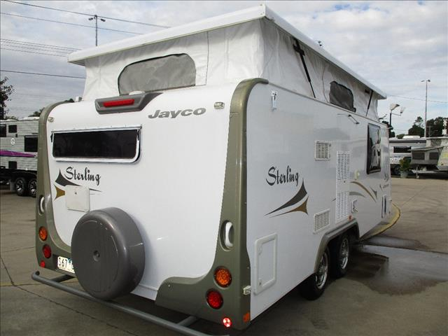 "2009 Jayco Sterling Pop Top,....SOLD.... 17'6"" Tandem, Shower and Toilet, Double Bed, L- Shaped Lounge...."