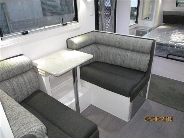 "2019 Montana "" Charm"" 18'6""...Arriving Soon ..Semi Off Road Single Axle Tourer, Queen Bed, Ensuite, Cafe Seating...."