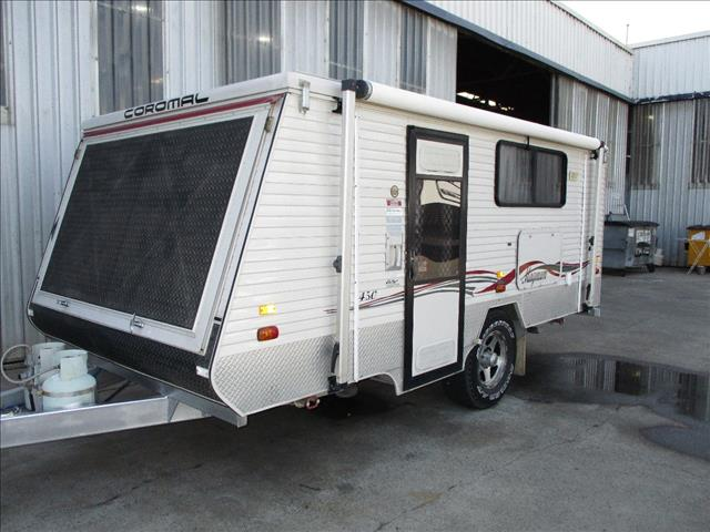 2010 Coromal Transforma....SOLD.... 450 XC Off Road Model, Single Axle, Expanda like Windsor Rapid....