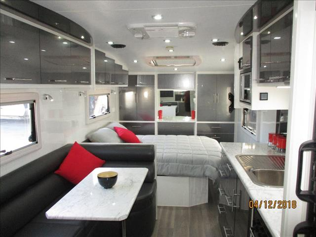 2015 Billabong Coolabah 226, Tandem Luxury Tourer, East/West Queen Bed, Side Club Lounge, Ensuite...