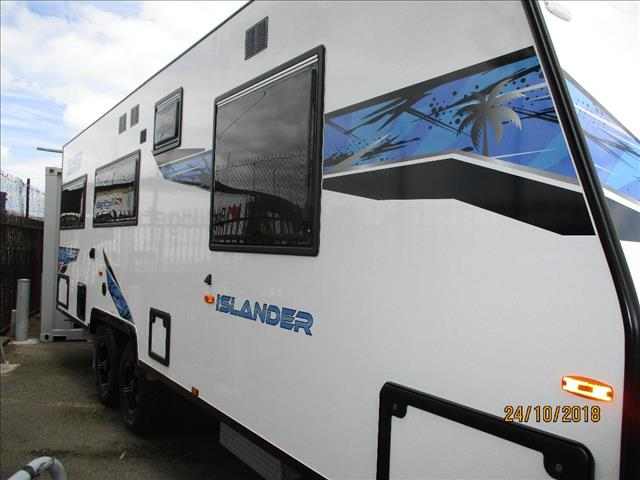 "2018 Pacific Islander 22'6"" Tandem Semi Off Road Tourer, Queen Bed, Club Lounge, Ensuite....."