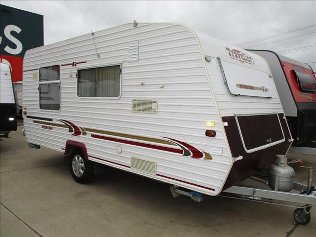 2003 Traveller Hurricane, ...SOLD....17' Single Axle Model, Front Kitchen, Island Bed.......