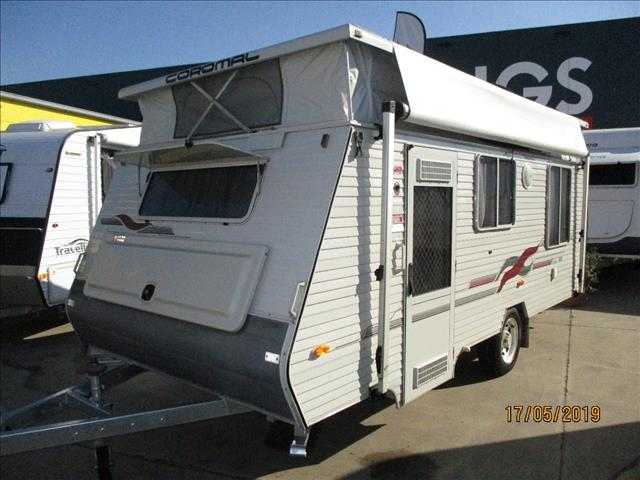 2003 COROMAL Excel 505, ....SOLD....16' Single Axle Tourer, Double Island Bed, Front Kitchen......INC AIR.